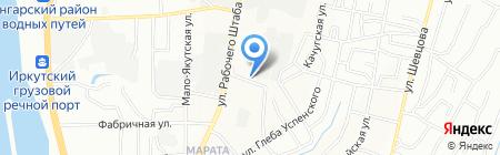 Завод металлических и полимерных сеток на карте Иркутска