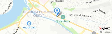 Super Шина на карте Иркутска