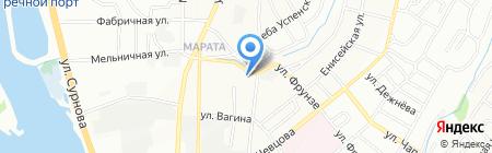 СибЭкономТепло на карте Иркутска