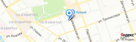 Радуга на карте Иркутска
