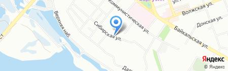 АльмАнар на карте Иркутска