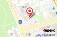 Схема проезда до компании Вип-Компания в Иркутске