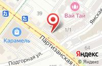 Схема проезда до компании Сибирячок в Иркутске