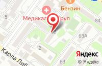 Схема проезда до компании Биопротект-Байкал в Иркутске