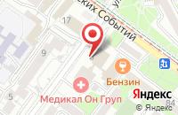 Схема проезда до компании Бизнес-Диалог в Иркутске