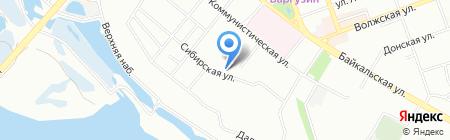 Дело на карте Иркутска