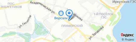 СибТрейд + на карте Иркутска
