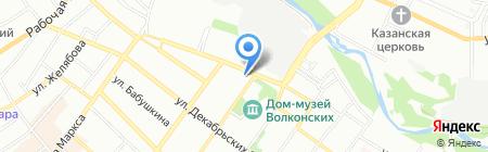 Мастер-Гриль на карте Иркутска