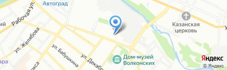 Anex Tour на карте Иркутска