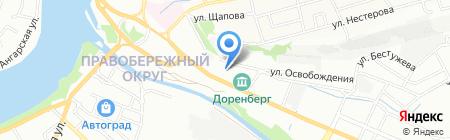 Галерея камня на карте Иркутска