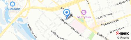 РосРАО ФГУП на карте Иркутска