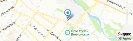 BaikalGolD на карте Иркутска