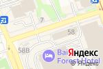 Схема проезда до компании Агентство путешествий Весь Мир в Иркутске