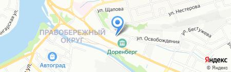 Сава Плюс на карте Иркутска