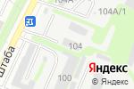 Схема проезда до компании АНАНАС в Иркутске