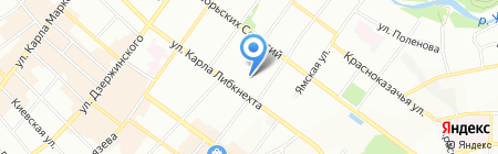 Продтехника+ на карте Иркутска