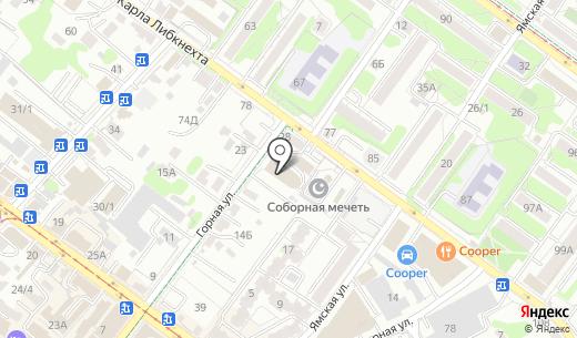 Аврора. Схема проезда в Иркутске