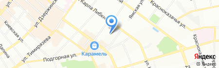 Вента Тур на карте Иркутска
