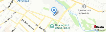 Иркутский фонд культуры на карте Иркутска