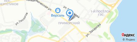 Магазин цветов на карте Иркутска