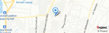 Энергия-базис на карте Иркутска