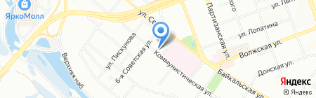 АКВА-ЛЮКС на карте Иркутска