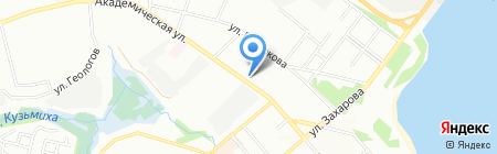 Ломбард Освал на карте Иркутска