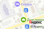 Схема проезда до компании York Style в Иркутске