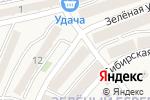 Схема проезда до компании Зелёный змей в Марковой