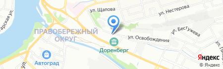 Эксклюзив на карте Иркутска
