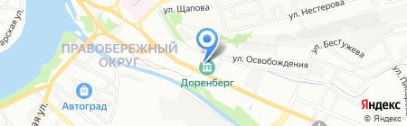 Канц-Лэнд на карте Иркутска