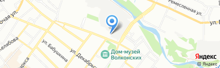 КондВент на карте Иркутска