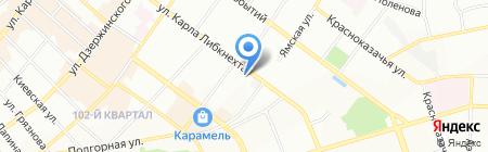 Иркутская соборная мечеть на карте Иркутска