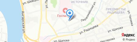 Дизайн Территория на карте Иркутска