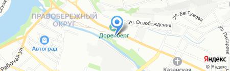 China-мастер на карте Иркутска