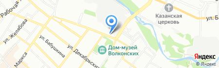 Багира на карте Иркутска
