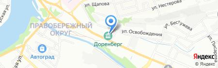 ДОРЕНБЕРГ на карте Иркутска