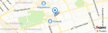 Банкомат АКБ Ланта-Банк на карте Иркутска