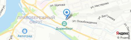Безопасность на карте Иркутска