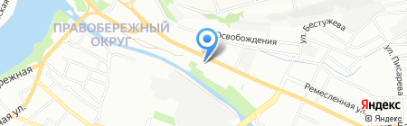 Технический центр диагностики автомобилей на карте Иркутска