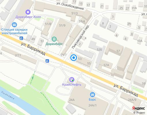 Управляющая компания «УправДом» на карте Иркутска