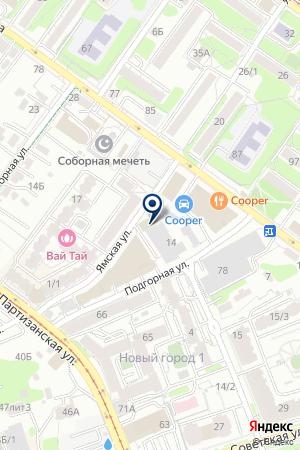 АВАРИЙНО-РЕМОНТНОЕ ПРЕДПРИЯТИЕ ПРАВОБЕРЕЖНОГО ОКРУГА на карте Иркутска