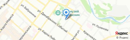 ИстФорм на карте Иркутска