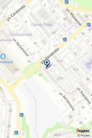 Сибирская аптека на карте Иркутска