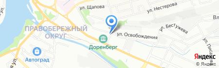 Хилти Дистрибьюшн ЛТД на карте Иркутска