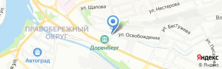 Ирпак на карте Иркутска