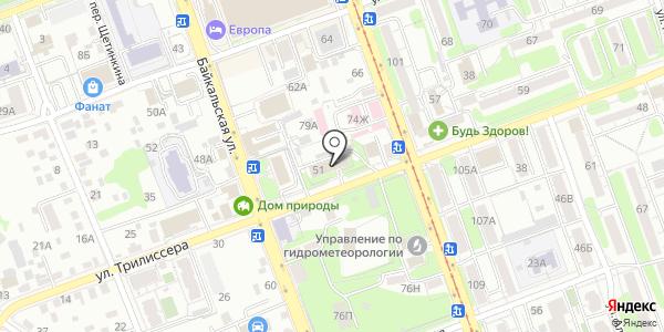 Консультационный центр по защите прав потребителей. Схема проезда в Иркутске