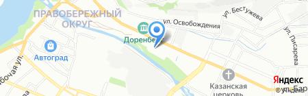 АвтоСтекло38 на карте Иркутска