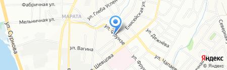 Ковромастер на карте Иркутска