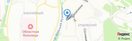 Тропикана на карте Иркутска